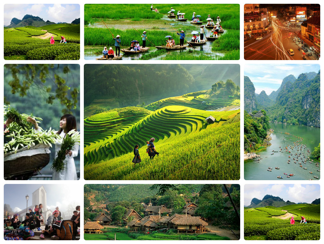 Tour Ha noi – Mu cang chai – sapa 4 days 3 nights