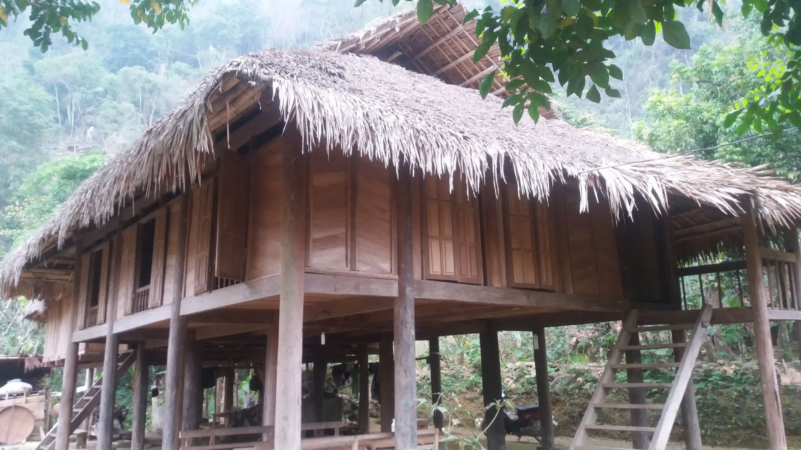 Mr. Ba's homestay - Hieu village - Pu Luong Nature Reserve