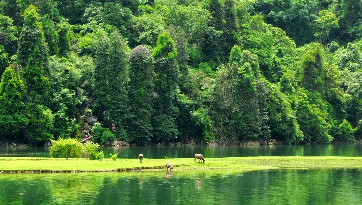 Ba Be tour Vietnam - vietmountain travel